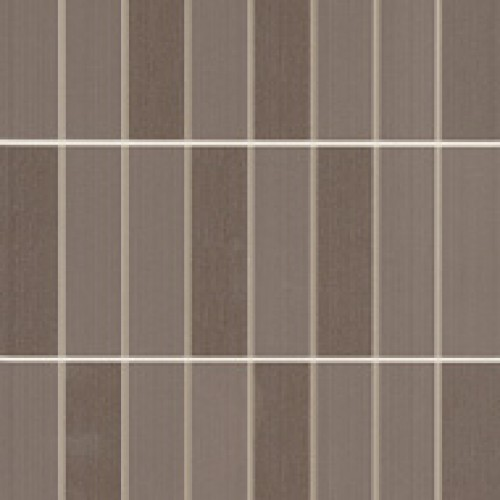 Плитка Colourline Brown Mosaico MLEZ 22*66.2